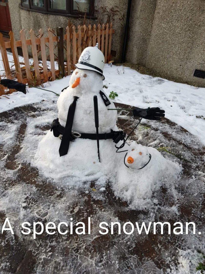 Snowploiceman