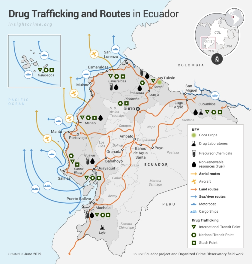Ecuador_Drug-Trafficking-and-Routes-in-Ecuador_Map_InSight-Crime_14-06-2019